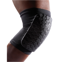 McDavid Teflx Knee/Shin/Elbow Pad - Youth - All Black / Black
