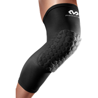 McDavid Hex Leg Sleeves - Men's - Black / Black