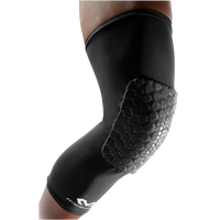 McDavid Teflx Leg Sleeve - Youth - All Black / Black