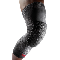 McDavid Teflx Leg Sleeve - Youth - Black / White