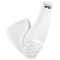 McDavid Hexpad Power Shooter Arm Sleeve - Men's - All White / White