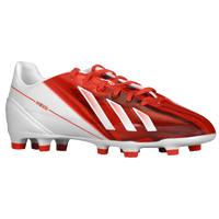 adidas F30 Messi TRX FG - Boys' Grade School - Red / White