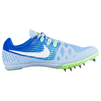 Nike Zoom Rival MD 8 - Girls' Grade School - Light Blue / Blue