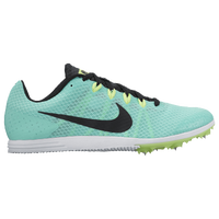 Nike Zoom Rival D 9 - Girls' Grade School - Light Green / Black