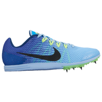 Nike Zoom Rival D 9 - Girls' Grade School - Light Blue / Blue