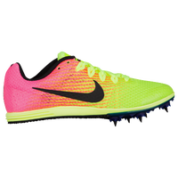 Nike Zoom Rival D 9 - Girls' Grade School - Pink / Light Green