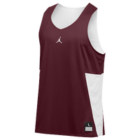 Jordan Team Flight Reversible Tank - Men's - Cardinal / White