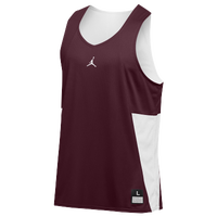 Jordan Team Flight Reversible Tank - Men's - Maroon / White