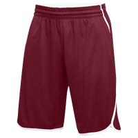 Jordan Team Flight Shorts - Men's - Maroon / White