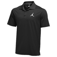 Jordan Team Polo - Men's - All Black / Black