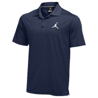 Jordan Team Polo - Men's - Navy / White