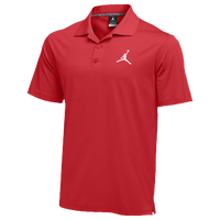Jordan Team Polo - Men's - Red / Red
