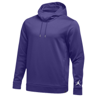 Jordan Team 360 Fleece Hoodie - Men's - Purple / Purple