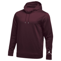 Jordan Team 360 Fleece Hoodie - Men's - Maroon / Maroon