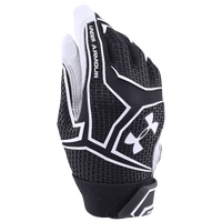 Under Armour Yard Clutchfit Batting Gloves - Youth - Black / White