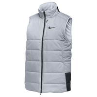 Nike Men's Vest - Men's - Grey / Red