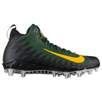 Nike Alpha Menace Pro Mid - Men's - Dark Green / Gold
