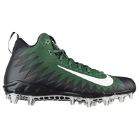 Nike Alpha Menace Pro Mid - Men's - Dark Green / White