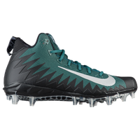 Nike Alpha Menace Pro Mid - Men's - Dark Green / Silver