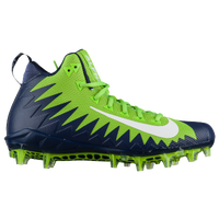 Nike Alpha Menace Pro Mid - Men's - Light Green / Navy