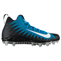 Nike Alpha Menace Pro Mid - Men's - Light Blue / Black