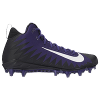 Nike Alpha Menace Pro Mid - Men's - Purple / Black