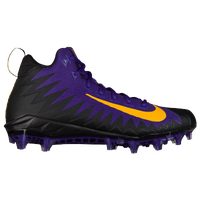 Nike Alpha Menace Pro Mid - Men's - Purple / Gold