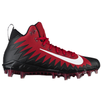 Nike Alpha Menace Pro Mid - Men's - Red / White