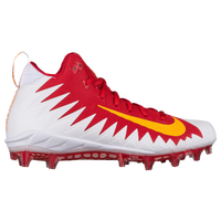 Nike Alpha Menace Pro Mid - Men's - Red / Gold