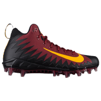 Nike Alpha Menace Pro Mid - Men's - Maroon / Black