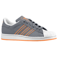 adidas Originals Superstar 2 - Boys' Grade School - Grey / White