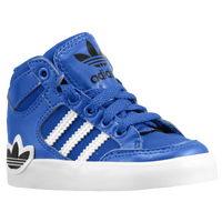 adidas Originals Hard Court Hi - Boys' Toddler - Blue / White