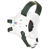 Cliff Keen Fusion Headgear - Men's - White / Dark Green