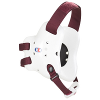 Cliff Keen Fusion Headgear - Men's - White / Maroon
