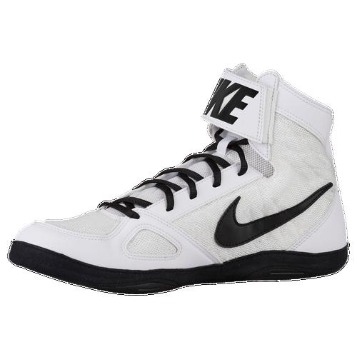 Nike Takedown 4 - Men's - Wrestling - Shoes - White/Black/White