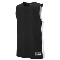 Nike Team League Reversible Tank - Boys' Grade School - Black / White