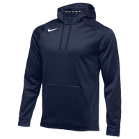 Nike Team Therma Hoodie - Men's - Navy / Navy