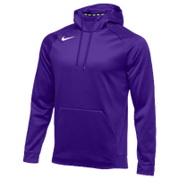 Nike Team Therma Hoodie - Men's - Purple / Purple