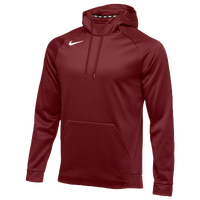 Nike Team Therma Hoodie - Men's - Cardinal / Cardinal
