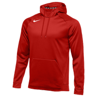 Nike Team Therma Hoodie - Men's - Red / Red