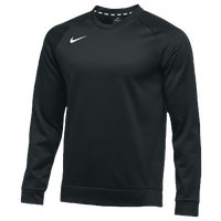 Nike Team Therma Crew - Men's - All Black / Black
