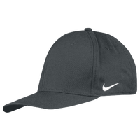 Nike Team Dri-Fit Swoosh Flex Cap - Men's - Grey / Grey