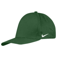 Nike Team Dri-Fit Swoosh Flex Cap - Men's - Green / Green
