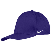 Nike Team Dri-Fit Swoosh Flex Cap - Men's - Purple / Purple