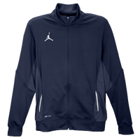 Nike Team Jordan Flight Jacket - Men's - Navy / White