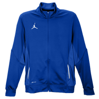 Nike Team Jordan Flight Jacket - Men's - Blue / White