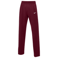 Nike Team Therma Pants - Women's - Maroon / Maroon