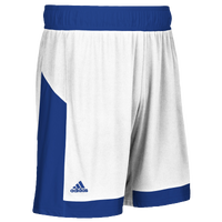 adidas Team Commander Shorts - Men's - White / Blue
