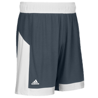 adidas Team Commander Shorts - Men's - Grey / White