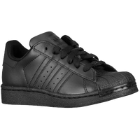 adidas Originals Superstar 2 - Boys' Preschool - All Black / Black